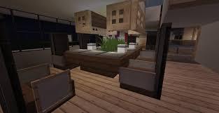 minecraft furniture kitchen minecraft pe addons modern furniture addon kitchen tables