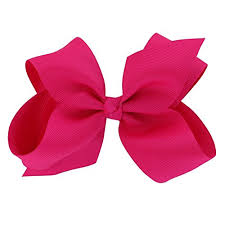 bows for hair chiffon 15 colors 6in large big grosgrain ribbon hair bows with
