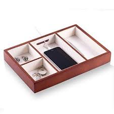 Desk Valet Charging Station Buy Ts6904brn Valet Tray Charging Station Cell Phones Coins Keys