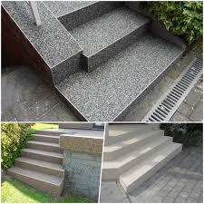 treppen im au enbereich steinteppich treppen treppe sanieren steinteppich verlegen kosten