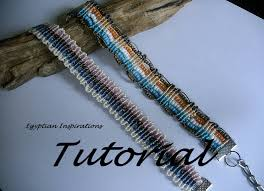bracelet macrame patterns images Micro macrame patterns tutorial for two bracelets beaded bracelet jpg