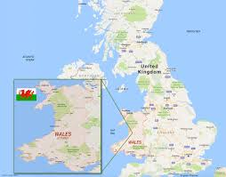 Map Of Wales Guided Tours Of Wales Dragon In Your Pocket 770 262 3720