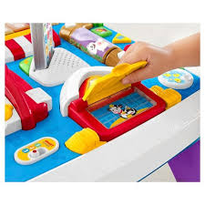 learning desk for fisher price laugh learn around the town learning table target