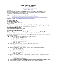 Culinary Resume Examples by David W Richards Net Resume