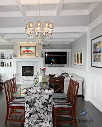 open layout living and dining room traditional contemporary style