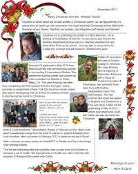 family christmas letter 2011 on target cover letter example