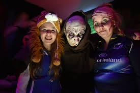 leinster rugby photos halloween festivities at the rds