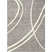 Brown And White Area Rug World Rug Gallery Area Rugs Rugs The Home Depot