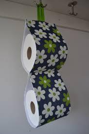 the decorative toilet paper holder storage for 2 rolls denim