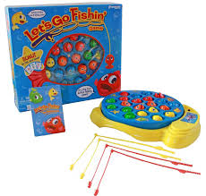 amazon com pressman pre005506 lets go fishin toys u0026 games