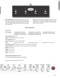 specifications evh 5150iii amp head user manual page 9 36