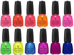 glaze nail polish colors chart 2017 swatches list