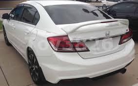 2012 2014 honda civic 4dr sedan factory si style spoiler rear wing