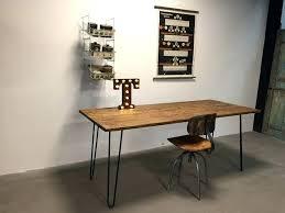 industrial hairpin leg desk vintage desk google search projects hairpin leg desk teak