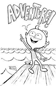 flapjack adventure candied island coloring pages batch coloring