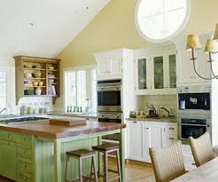 enchanting english cottage style kitchen with cream color wooden