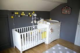 chambre bébé gris et turquoise chambre bebe gris jaune description deco chambre bebe garcon gris