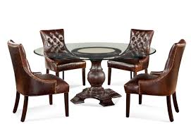 dining room sets leather chairs decor make your dining room more chic with tufted dining chair