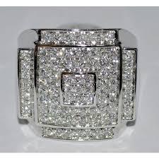 diamonds rings images Mens big diamond ring 14k jpg