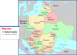 map of eastern european countries russia and eastern europe map thefreebiedepot