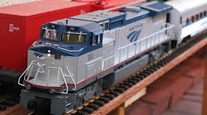 big model trains amtrak passenger in g scale