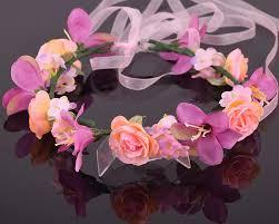 hair wreath aliexpress buy cxadditions adjustable bridal floral crown