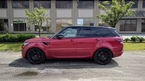 chrome range rover sport big muscle 2017 range rover sport autobiography review
