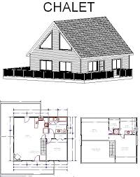 small chalet home plans chalet plans