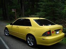 lexus is200 yellow just a daily driver in progress lexus is forum