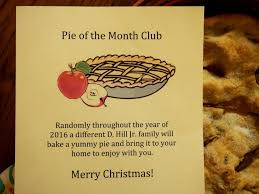 gift of the month a grandparent gift pie of the month club with a