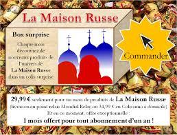 Magasin La Maison La Maison Russe Epicerie Fine Et Artisanat Achats En Ligne