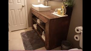 Build Bathroom Vanity How To Build A Bathroom Vanity