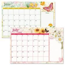 thanksgiving 2019 2018 2019 watercolor garden calendar pad calendar pads