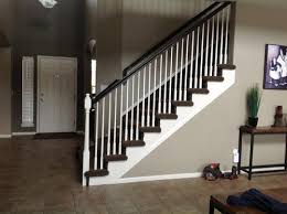 Restaining Banister Paint Or Stain