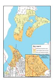 Tacoma Washington Map by Site Information