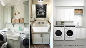 Cabinet Ideas For Laundry Room Laundry Room Sink Cabinet Ideas