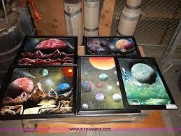 Spray Paint Artist - 5 assorted sam calvert spray paint art work item bj9642