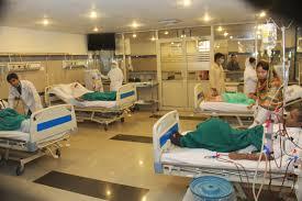 Rawalians Pictorial view of Renal Dialysis Center at Holy Family Hospital  Rawalpindi  Pakistan