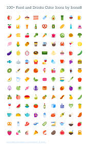 freebie 100 colored food u0026 drink icons eps svg pdf u0026 png