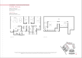 4 Bedroom Duplex Floor Plans Penthouse 4 Bed Study Duplex Flamingo Valley