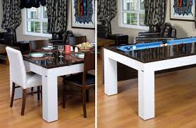 Pool Table Dining Room Table Creative Decoration Pool Table Dining Combination Impressive
