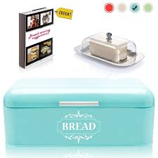 Pink Retro Kitchen Collection by Shop Amazon Com Bread Boxes