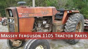 massey ferguson 1105 tractor parts youtube