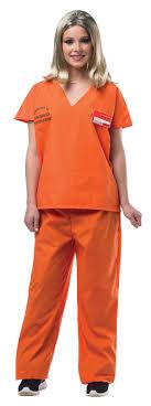prison jumpsuit costume orange prisoner jumpsuit buycostumes com
