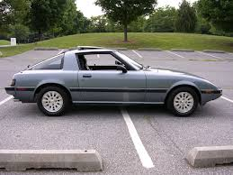 1985 mazda rx 7 i think mine was 1987 or 88 cars i u0027ve known