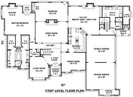 house plans with indoor pool beautiful 6 bedroom house plans home plans ideas