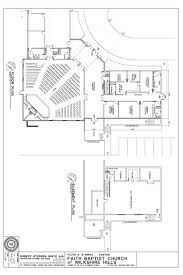 Church Floor Plans by New Building Faith Baptist Church