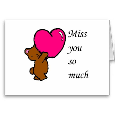 i miss you cards 11 best miss you cards images on miss you cards