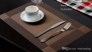 dining room placemats textilene placemats pvc mats for dining table heat insulation