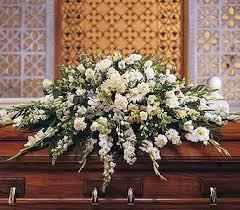casket spray deluxe white casket spray casket standing sprays